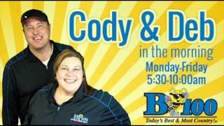Michiana Paranormal on the B100 Cody and Deb Morning Show 10/29/2015