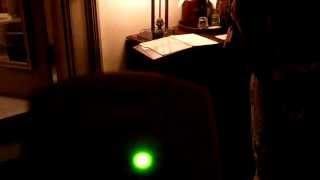 Ghost hunting EMF.EMS Haunted Hotel Belleveiw Biltmore found a hotspot in the fire