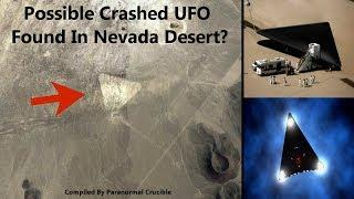 Possible Crashed UFO Found In Nevada Desert?