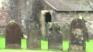 Ghost Caught on Tape in a Graveyard.