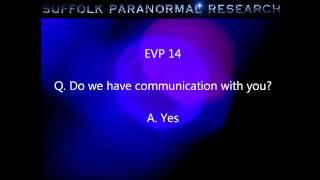 Suffolk Paranormal Research Private Investigation 14th April 2012