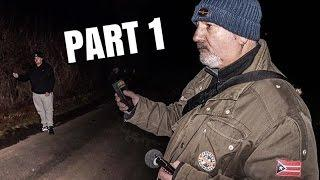 Ghost Hunting at SCARY Haunted Dirt Road (Part 1!!)