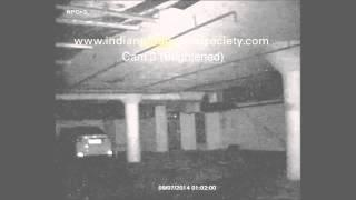 Child Ghost figure caught walking on our NPC-8nm CCTV