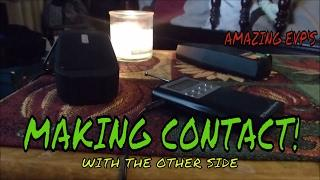 """PROOF SPIRITS CAN SEE AND HEAR US! """"AMAZING EVP'S""""!!!!!!!!!"""