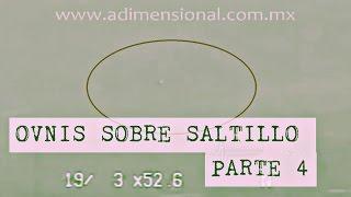Ovnis sobre aeropuerto de Saltillo (Parte 4) (UFO) (México)
