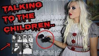 SCARY GHOST VOICES CAUGHT ON CAMERA AT THE AXE MURDER HOUSE!