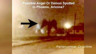 Angel Or Demon Spotted In Phoenix, Arizona?