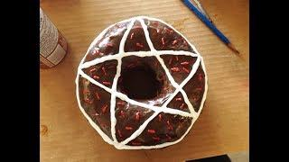 Satanic Ritual DONUTS!!!