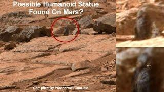 Possible Humanoid Statue Found On Mars?