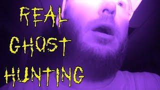 GHOST HUNTING COMPLETELY ALONE IN HAUNTED HOSPITAL! | pt 2 of 3