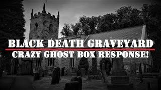 SHOCKING Ghost Box Response | Spooky HAUNTED Graveyard | Real PARANORMAL Activity?