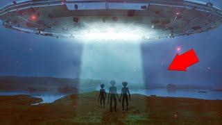 OMG!! Real UFO Sightings With Aliens Caught On Camera!!