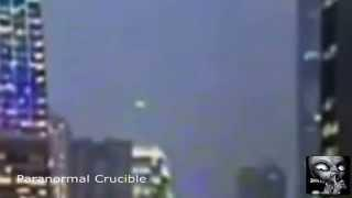 UFO Appears Over Hong Kong Protests