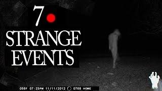 7 Mysterious and Strange Events Caught on Tape