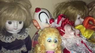 My Doll Collection (Haunted, Creepy, Clowns, Porcelain, Antique, Orbs)