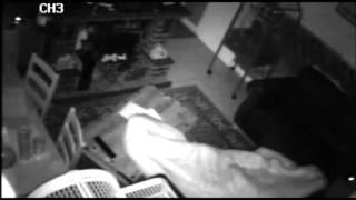 Poltergeist Activity Flying tin. At Petes house Short Clip 1 of 2