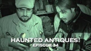 Real Paranormal Videos! Creepy Antique Store Haunting! (DE Ep. 34)