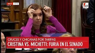 Feinmann le dice de todo a Cristina tras la intervención en el Senado