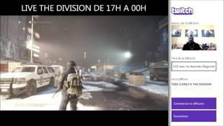 THE DIVISION - Rediffusion du Live dans la description