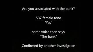 Audio -  Are you associated with the bank?