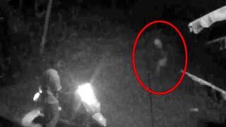 Ghost Sighting Caught On CCTV Camera From An Abandoned Road At Night!!