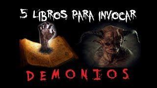 Descarga 5 Libros para Invocar Demonios y otras Entidades