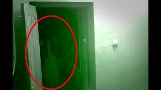 Ghost Activity In A Dark Room Caught On Camera!! Eerie House!!