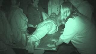 Fort Amherst ghost hunt - 8th August 2015 - Large table tilting