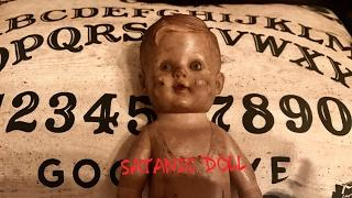 Unboxing A Doll Used In Satanic and Demonic Ritual From Black Pyre Haunted Creepy Objects
