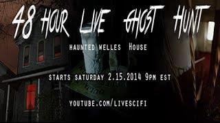 SCARIEST HAUNTED HOUSE - Demon Caught on Tape At Welles House Ep 3