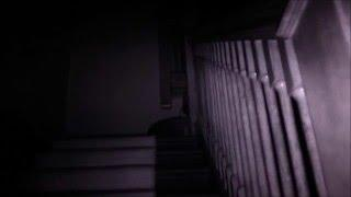 Investigator says she sees an adult is standing in the stairwell - watch and listen