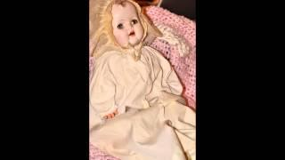 Haunted Doll #9 Victoria Antique/Vintage Composition Doll