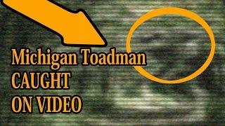 Michigan Toadman Video | Werewolf / Dogman / Scary Creature Caught On Video Camera Tape NEW 2016