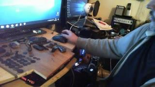 Haunted Doll Session #3 with Xbox Kinect and other Apps.