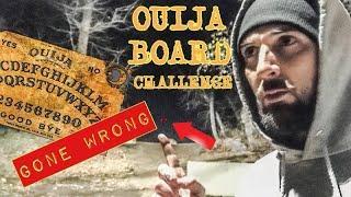 OUIJA BOARD CHALLENGE GONE WRONG (HAUNTED OUIJA COVE)