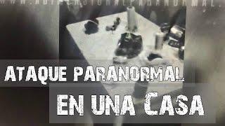 Perturbadores eventos paranormales en una casa (Video Paranormal)