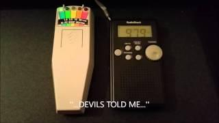 Paranormal-X : Spirit Ghost Box Session (Evil Spirit? Demon? Devil? Diablo? 666?)