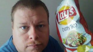 Lays Crispy Taco Chips Review