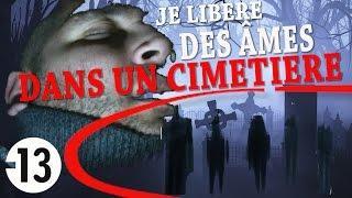 JE LIBÈRE DES ÂMES D'UN ANCIEN CIMETIÈRE HANTÉ (Chasseur de Fantômes) [Exploration Nocturne] Urbex