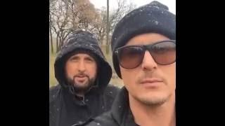 Ghost Adventures on location in winter storm