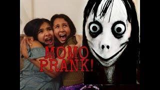 MOMO SCARE PRANK GONE WRONG!!!