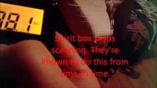 A compilation of Spirit Box replies
