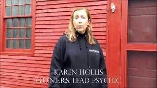 Karen Hollis talks about the haunting at Nathan Hale Homestead