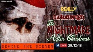 #UKHauntedLIVE - The Ancient Ram Inn - (behind the scenes)