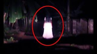 A White Colour Figure Caught On Camera!! Real Ghost Sightings 2018