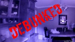 Ghost Spirit Chases Family Dog Caught on Camera Debunked