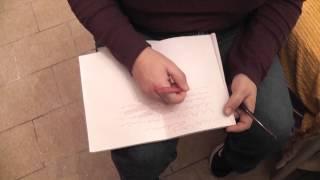 Gruppo Ricerca Fenomeni Paranormali   Scrittura automatica in abitazione nel Pistoiese