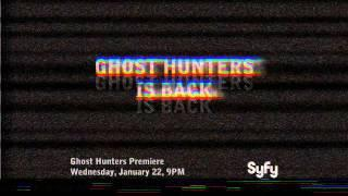 Ghost Hunters is Back January 22 on Syfy