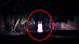 Girl Ghost Shadow In Dark Caught On Tape!!