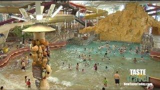 The Largest Indoor Water Park: Kalahari Resort - Wisconsin Dells!!